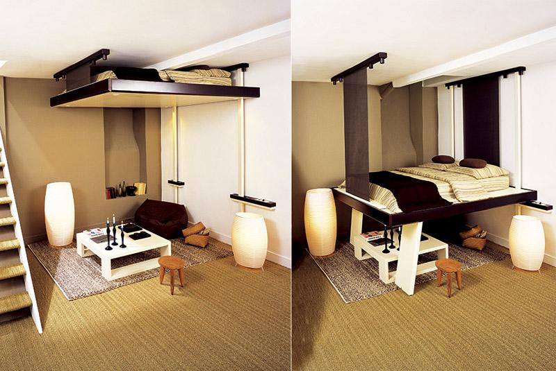 Умный дизайн для маленькой квартиры