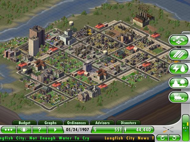 City Building Games Online 3d