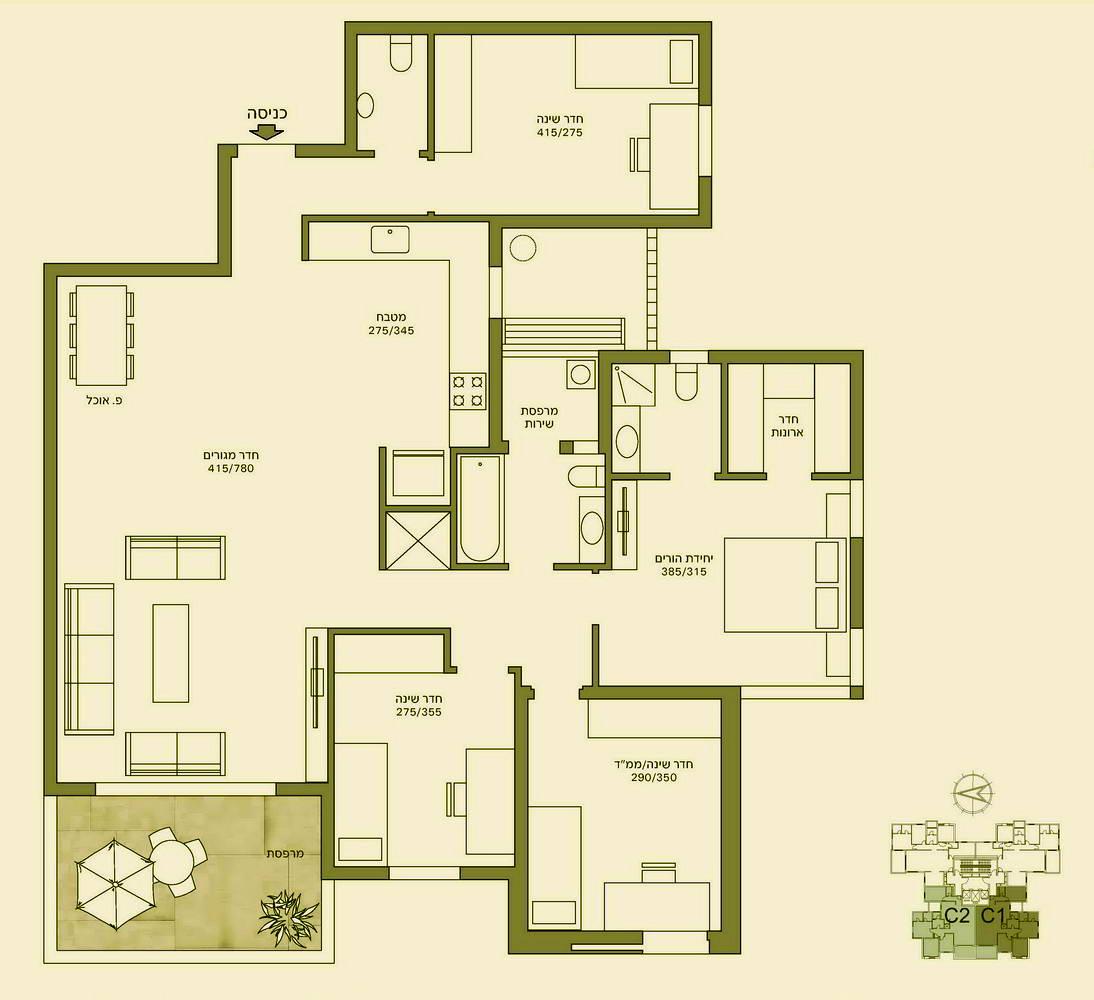 картинки планировки 5 комнатной квартиры расположения: