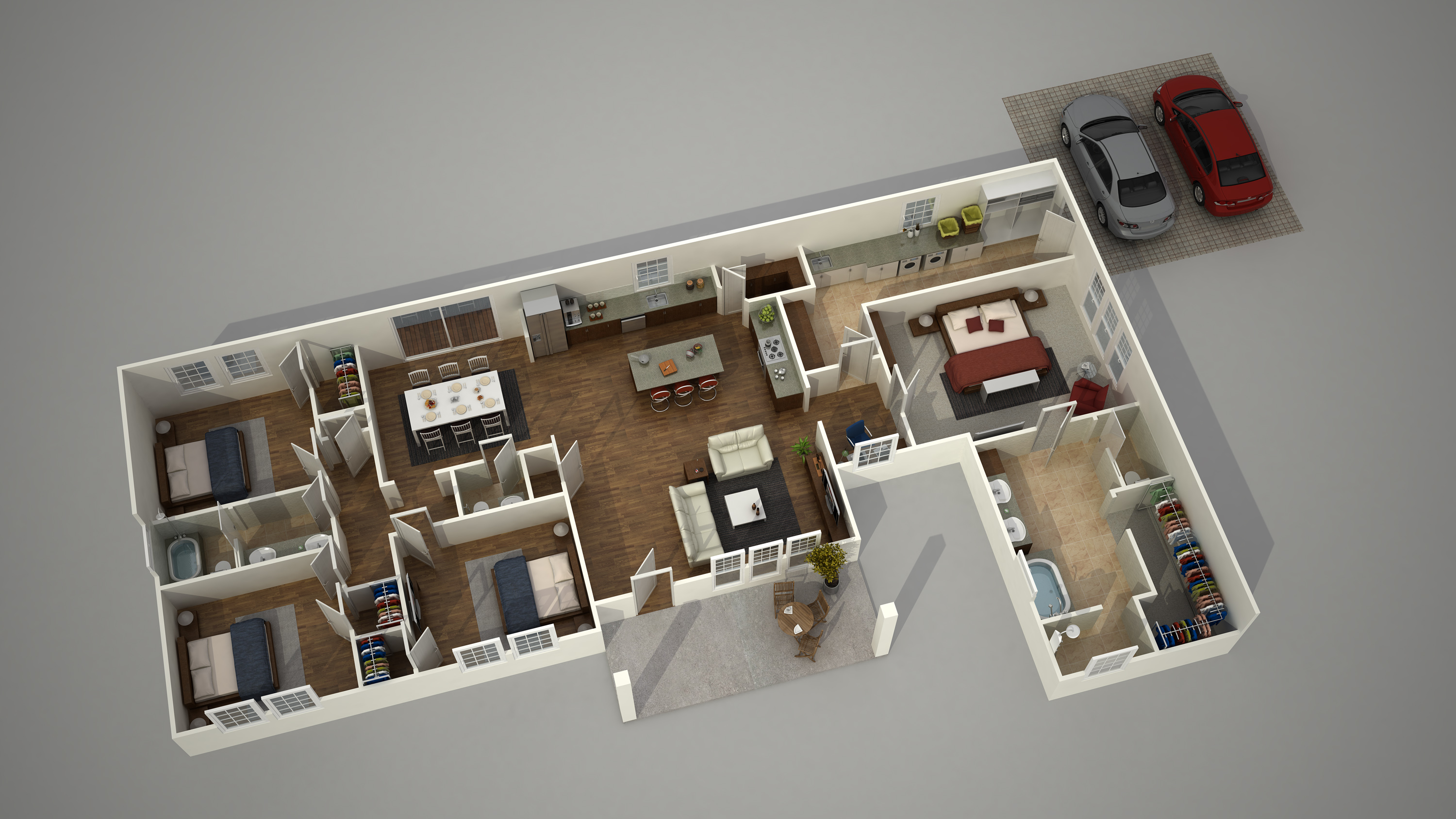 Create 3d floor plans free for Free virtual floor plan designer
