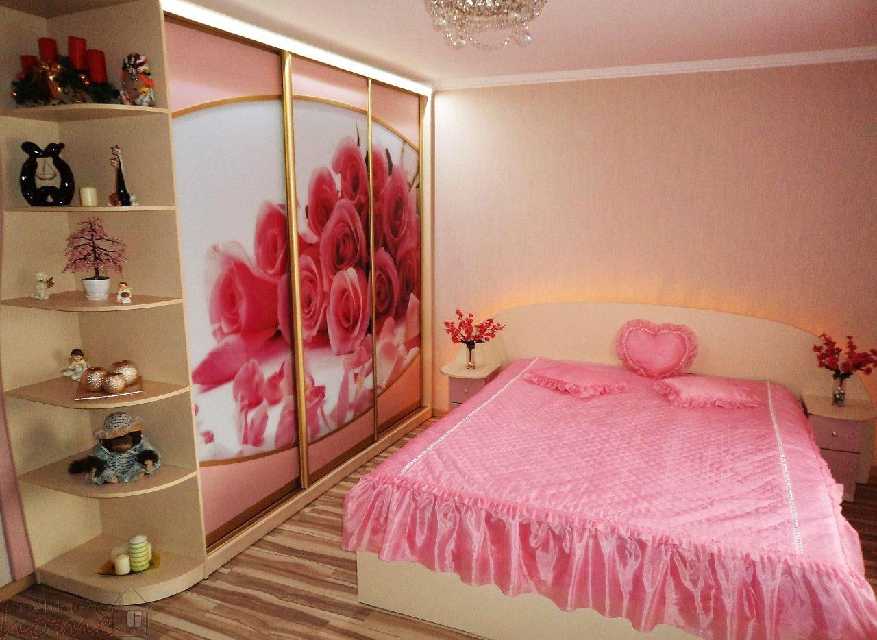 """Дизайн спальни в розовых тонах фото """" картинки и фотографии ."""