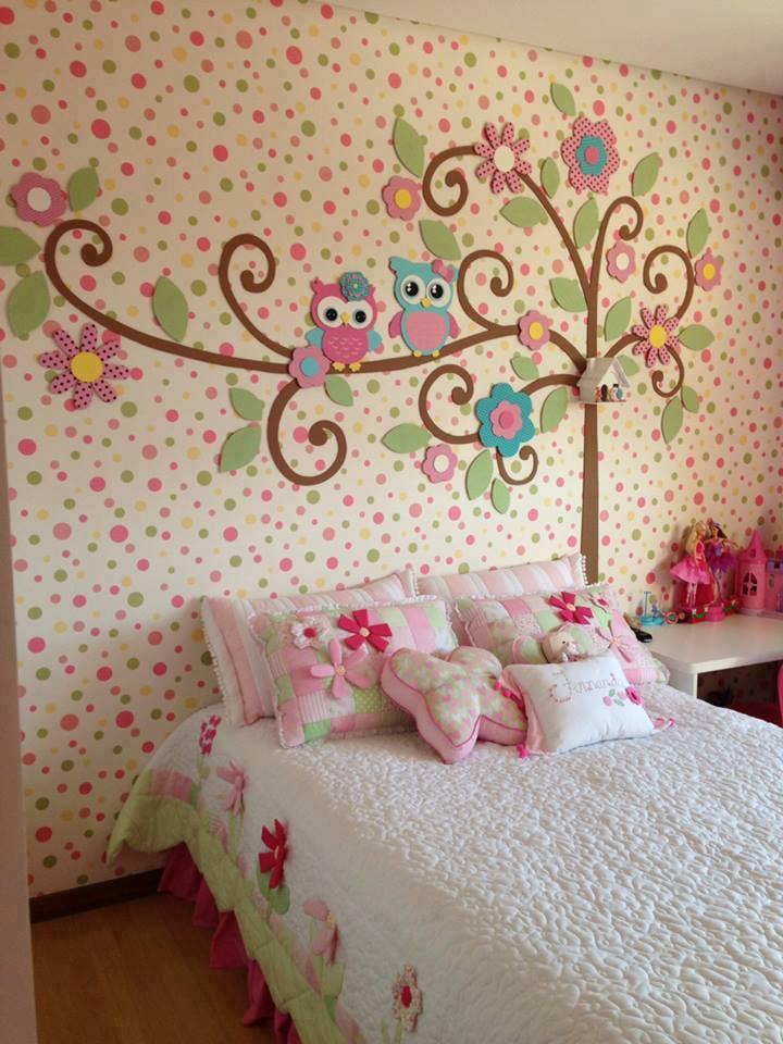 Декорируем стены в комнате своими руками