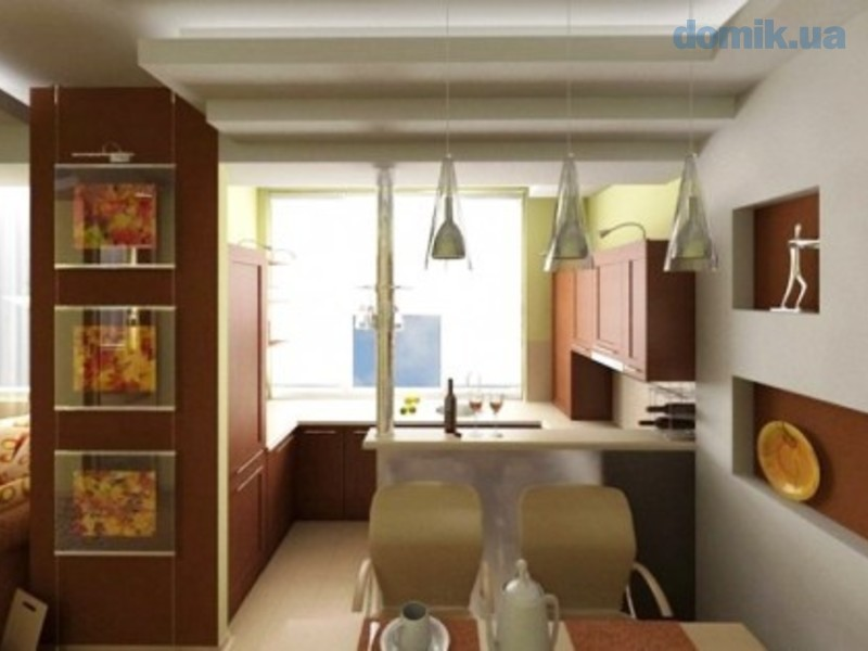 Dining and kitchen interior decor for small apartment for yo.