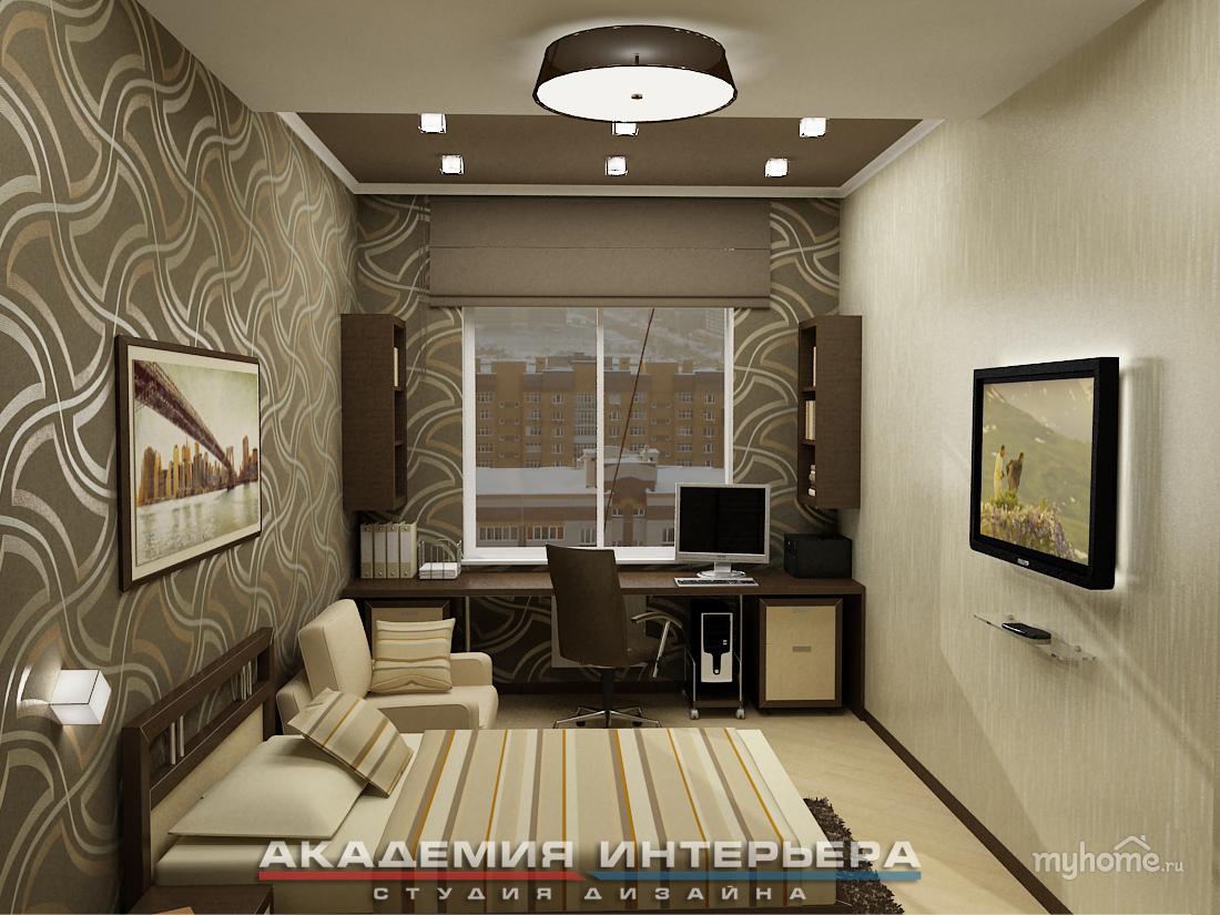 комната для подростка мальчика 10 кв.м фото
