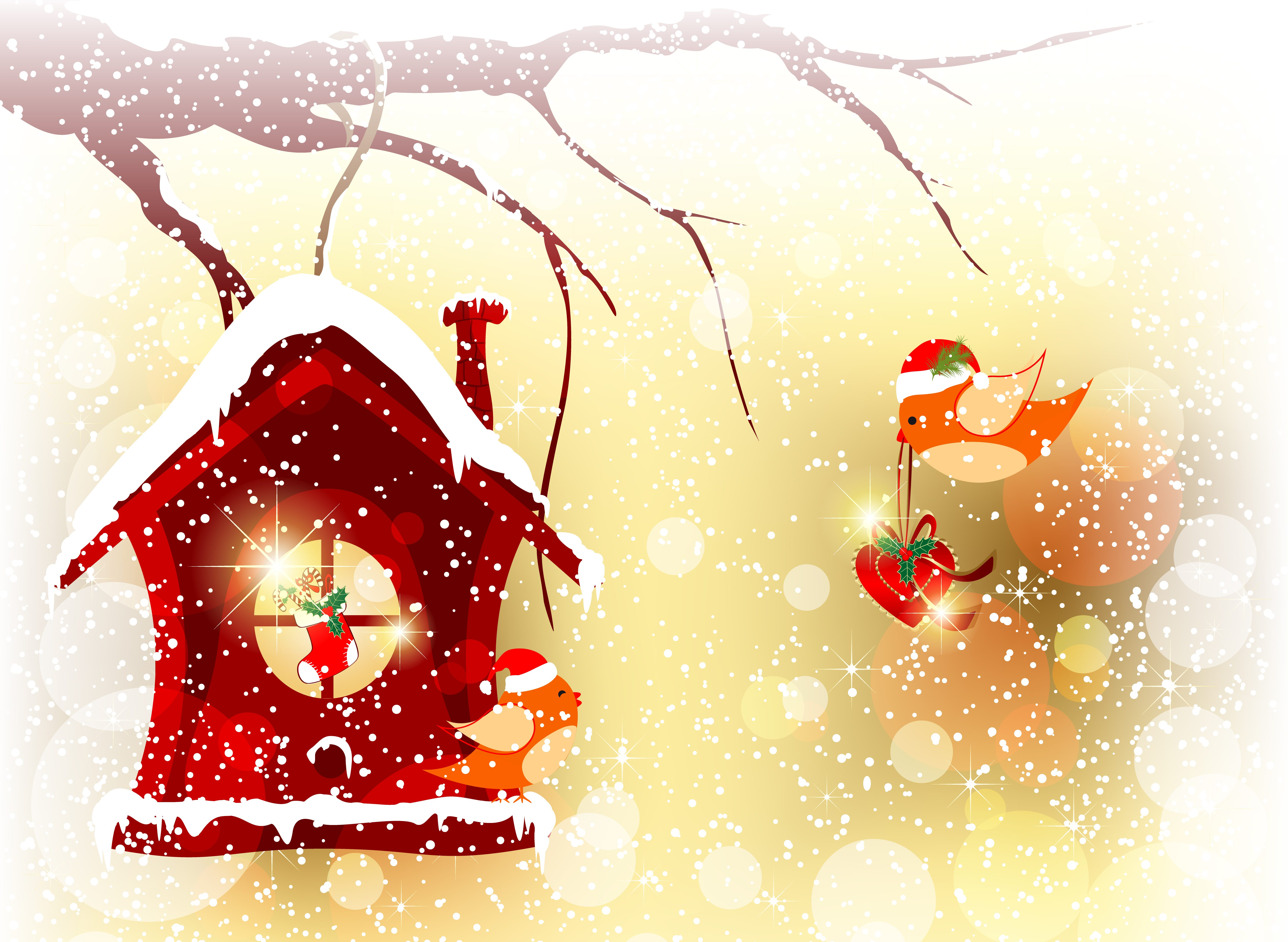 Картинки новогодние на рабочий стол бесплатно 13