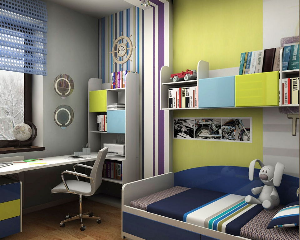 Комната для мальчика или девочки 9 кв м, фото