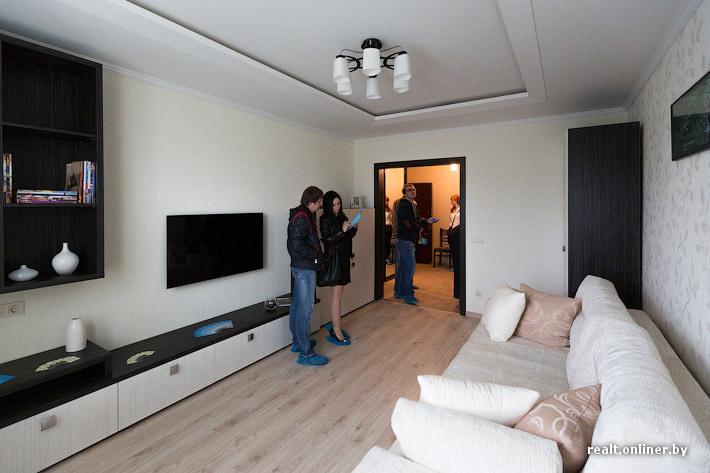 дизайн гостиной 18 метров фото в панельном доме