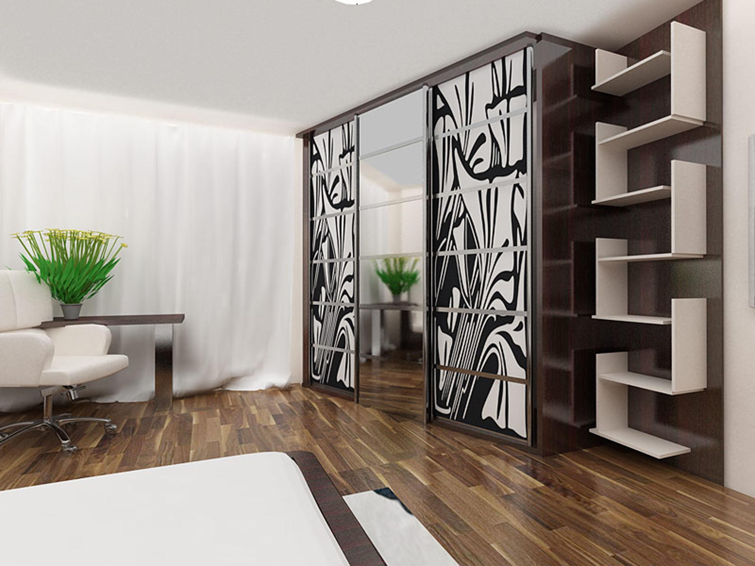 Шкаф купе в гостиную, плюсы и минусы, варианты оформления фа.