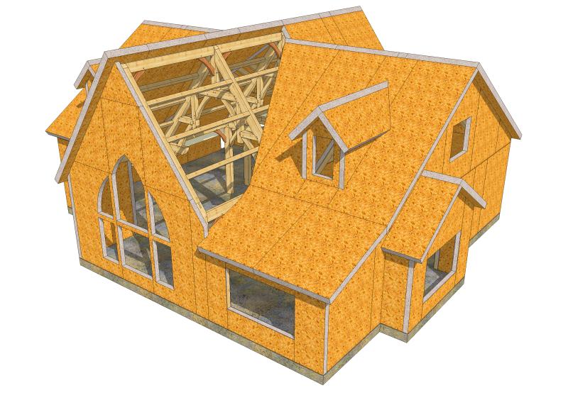 Программа для проектирования домов и крыш