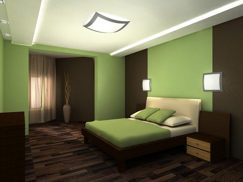 Обои цвет для маленькой комнаты