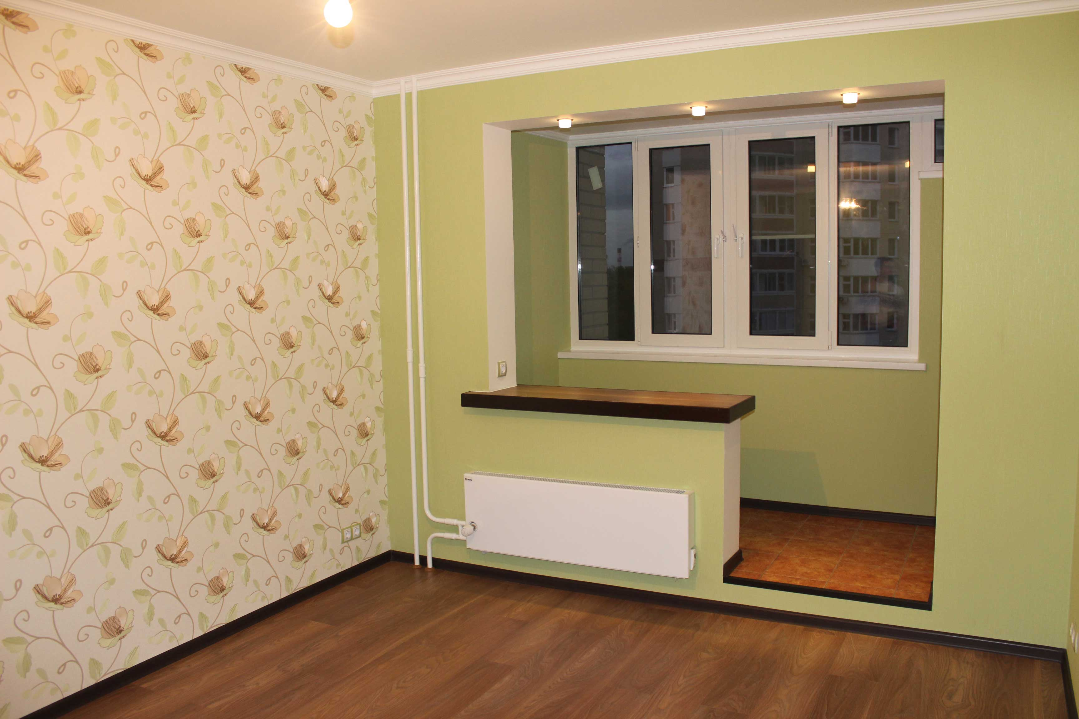Шпаклевка, обои, покраска стен и потолков и также откосы и б.