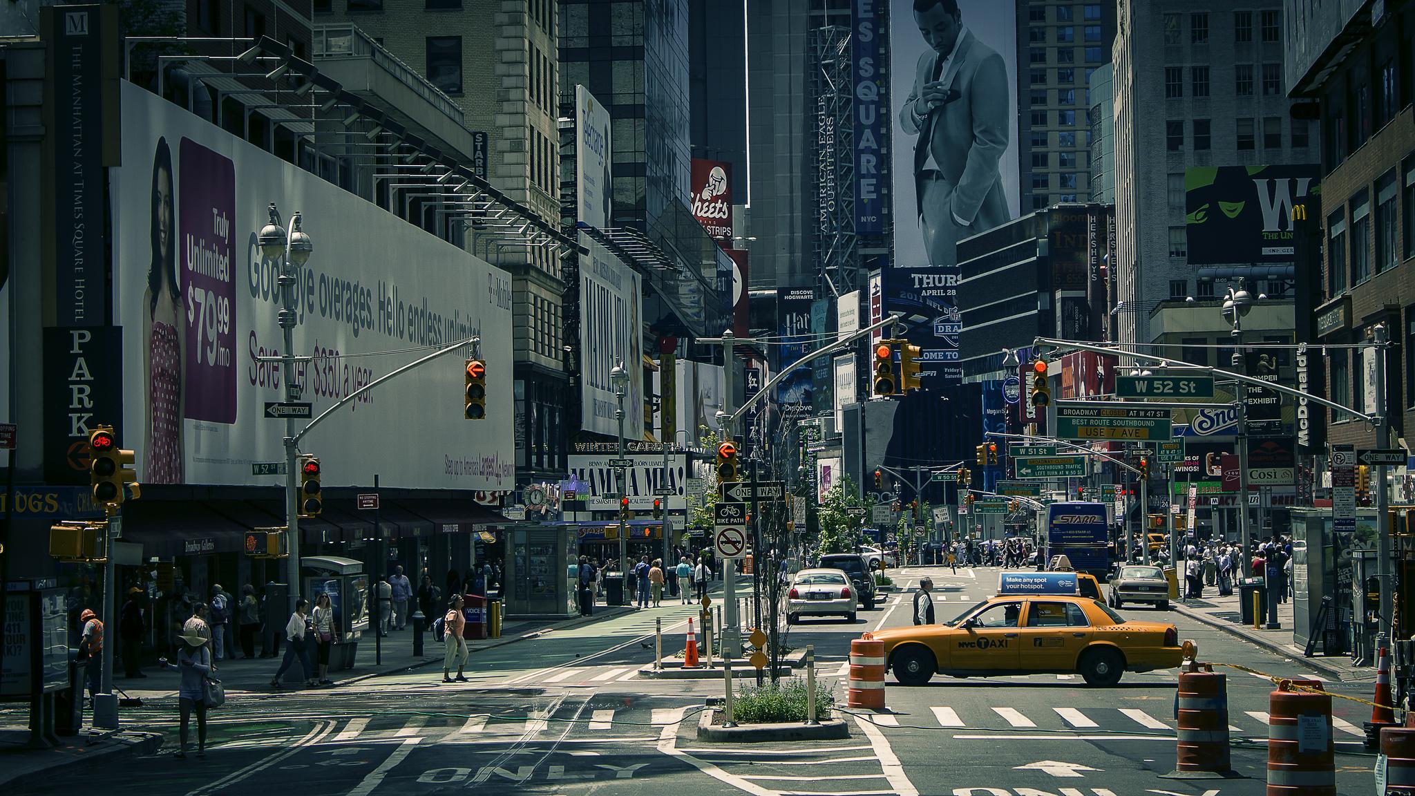 Обои Город, улица, Нью Йорк. Города foto 9