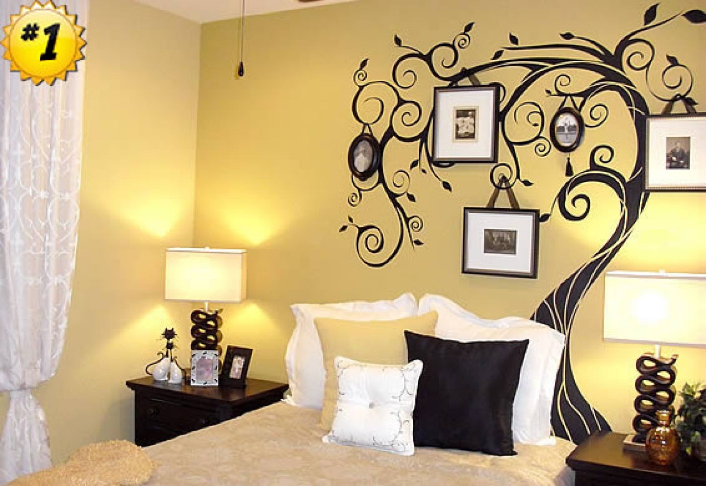 Ideas for wall art in bedroom