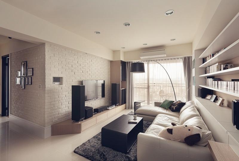 Дизайн узкого и длинного зала