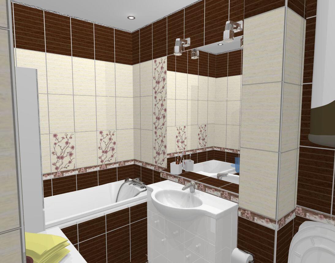 дизайн маленькой совмещенной ванной комнаты фото картинки и