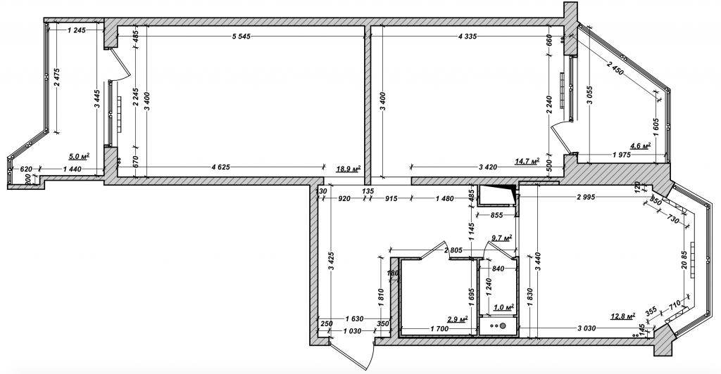 Дизайн двухкомнатных квартир фотографии