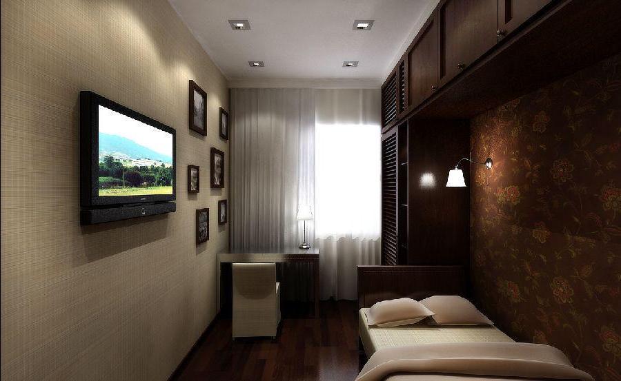 интерьер маленькой спальни гостиной картинки и фотографии дизайна