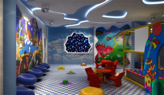 Игровая зона в детском саду оформление 66