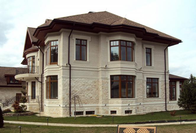 фото частных домов из кирпича