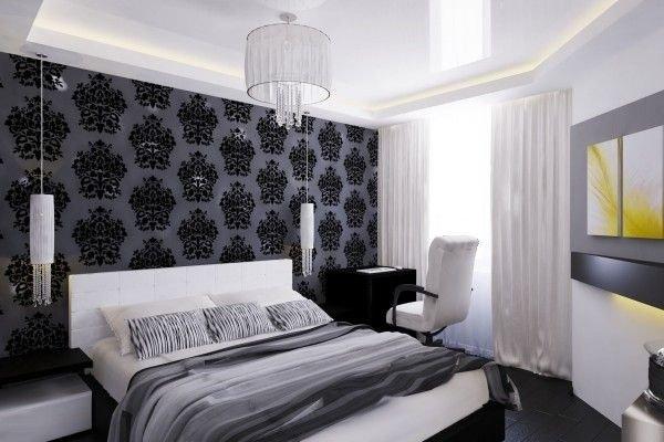 Черно-белый интерьер — контрастный дизайн фото