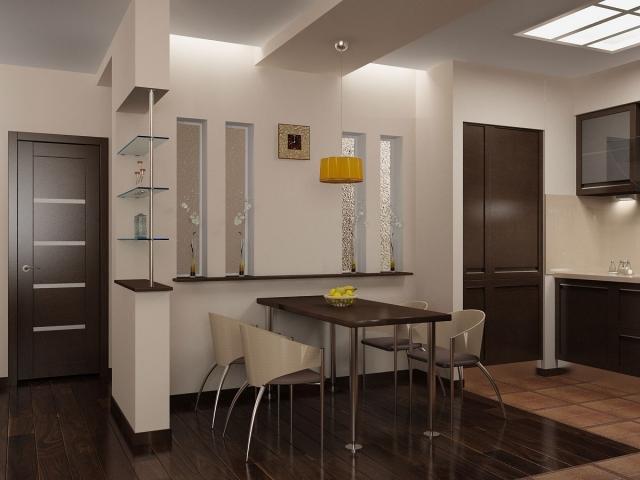 Кухня-прихожая: примеры совмещенного дизайна
