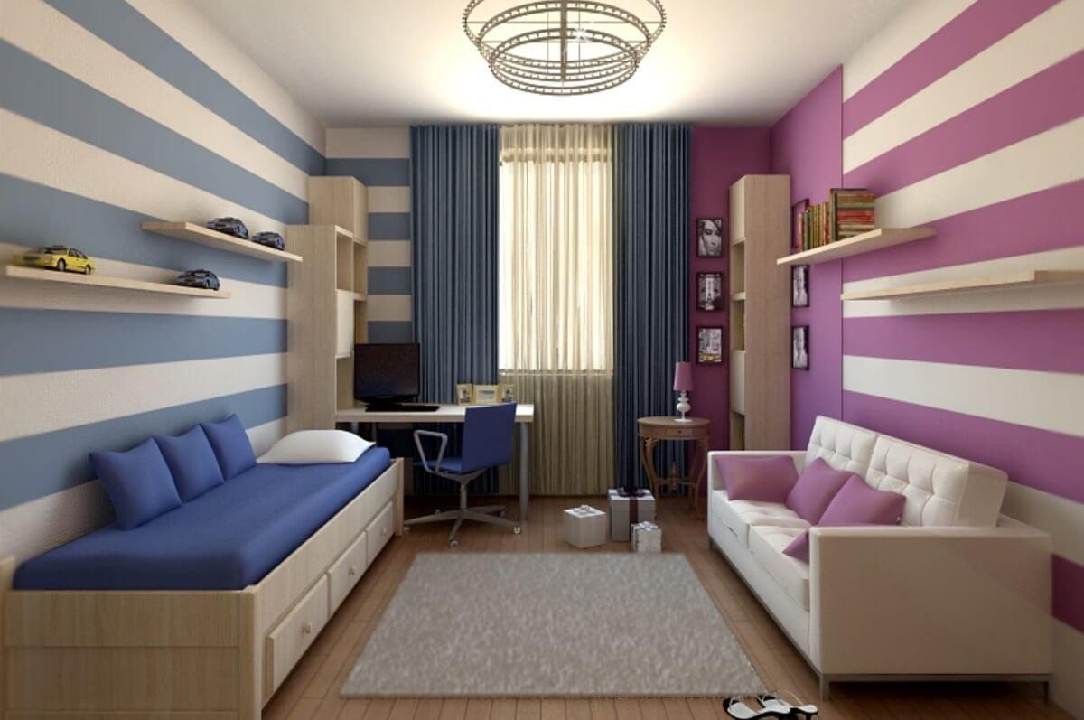 Особенности оформления детской комнаты для разнополых детей