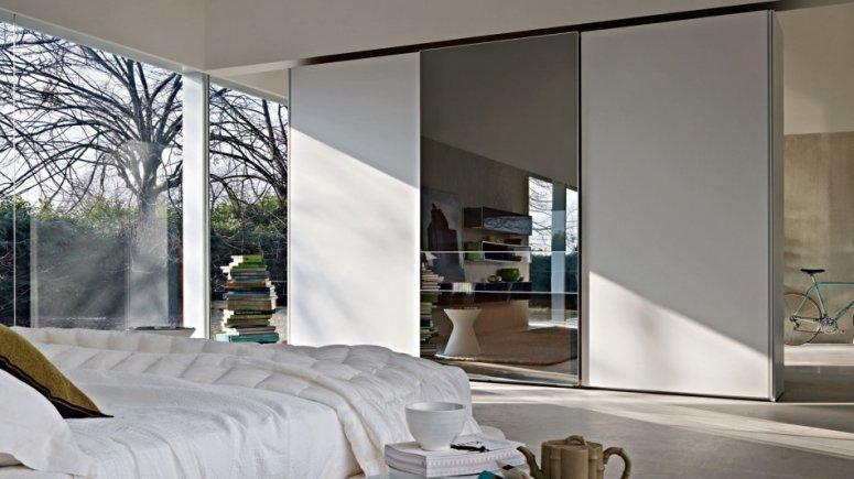 Гардеробная в спальне — особенности планировки.