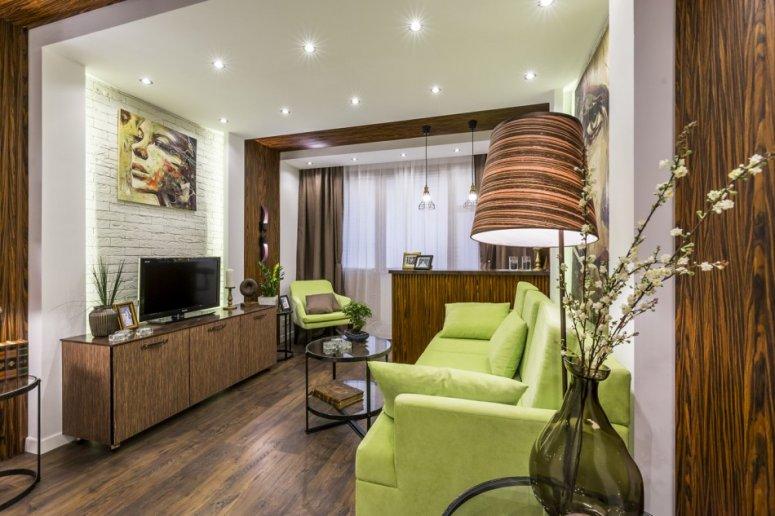 Зонирование гостиной — обзор достойных решений и современного дизайна.