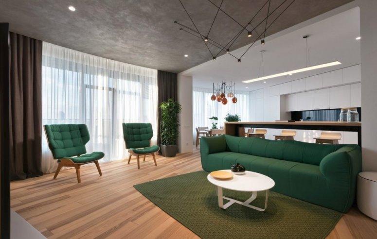 Современная гостиная — лучшие идеи практичного и стильного дизайна.