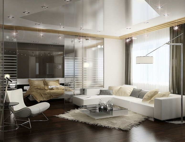 Зонирование спальни. Рекомендации как сделать уютный дизайн в современной спальне