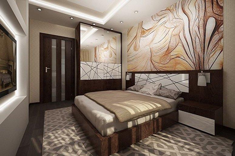 Дизайн спальни 15 кв.м.
