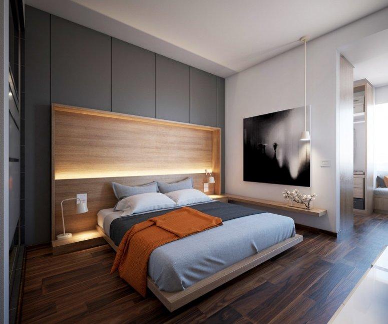 Современные спальни — варианты стильного и уютного дизайна