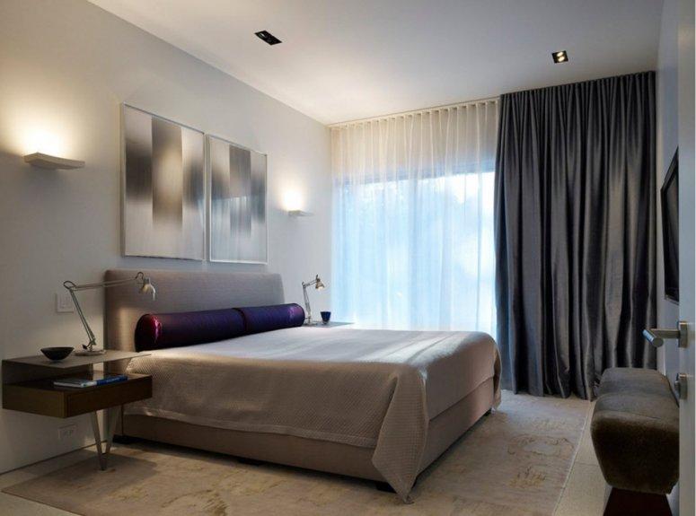 Интерьер спальни — фото интересных современных идей дизайна для комнат разных размеров