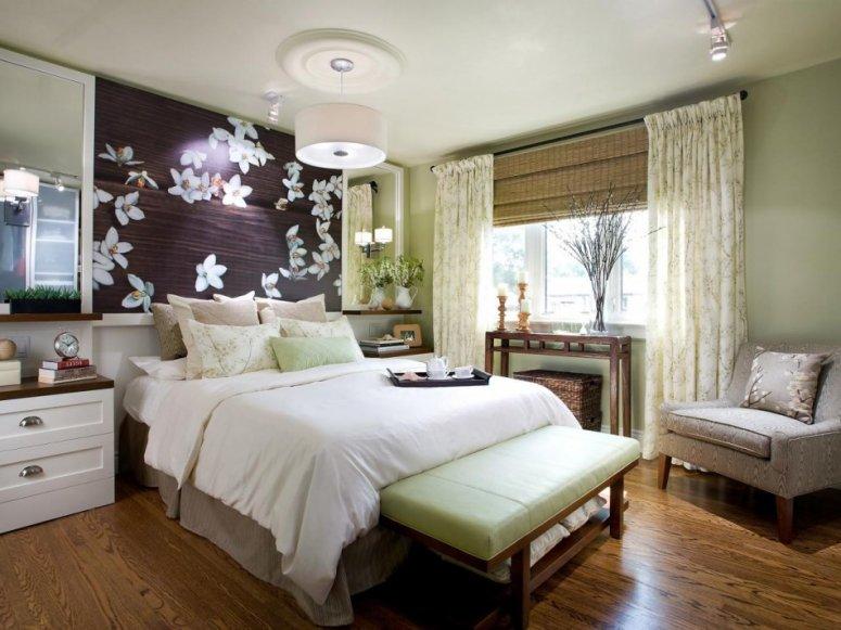 Большая спальня — необычные варианты дизайна и обзор красивых гарнитуров
