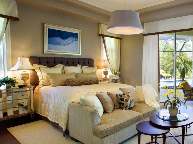 Прямоугольная спальня — оригинальные идеи оформления и применение современных дизайнерских решений