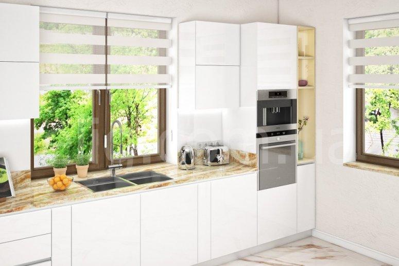 Дизайн кухни 25 кв. м. — варианты совмещения с гостиной, правила зонирования и планировки больших кухонь