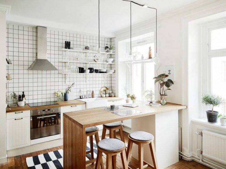 Дизайн кухни 6 кв. м. — фото интересных и красивых дизайнерских решений для маленькой кухни