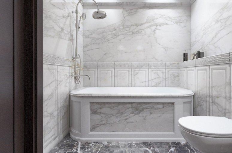 Ванная в частном доме: красивое обустройство, лучший дизайн и грамотная планировка