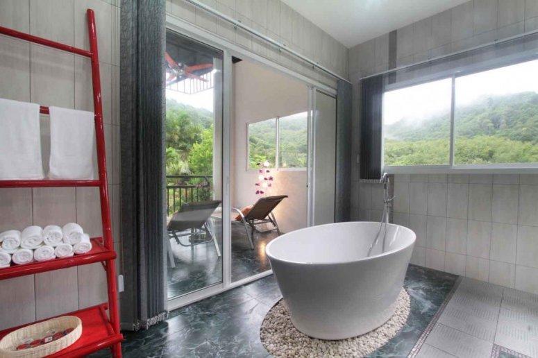 Ванная 8 кв. м. Нестандартная планировка, большой ванной комнаты