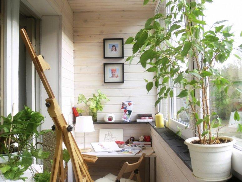 Маленький балкон. Варианты необычной планировки для небольшого балкона