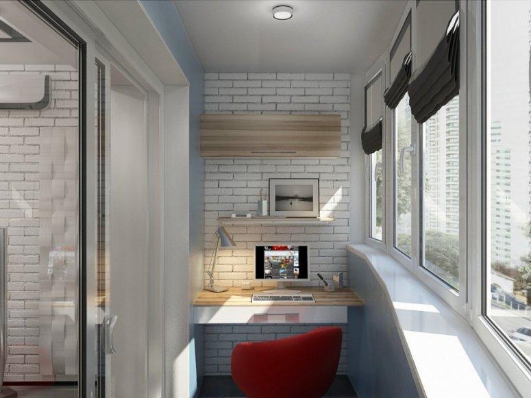 Дизайн лоджии: оформление интерьера и лучшие варианты сочетания материалов