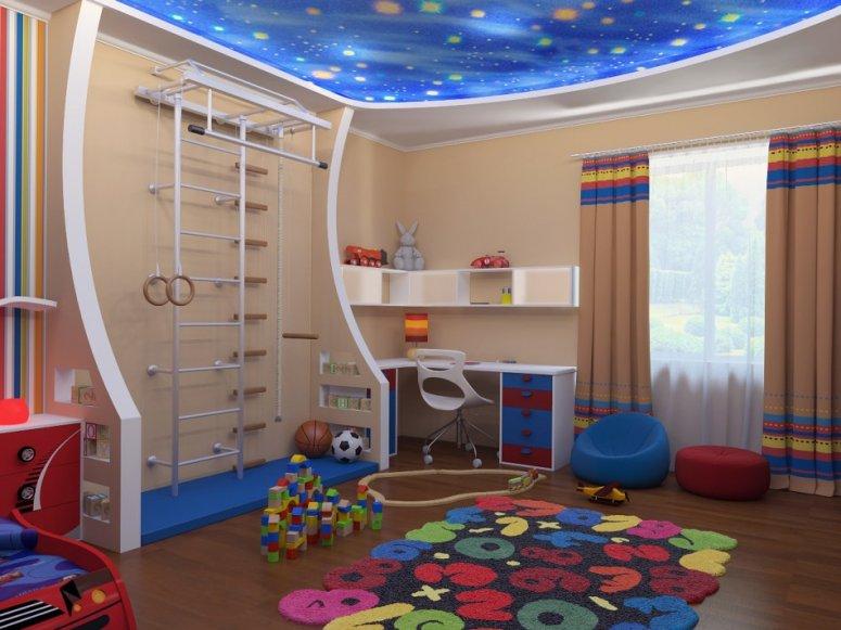 Большая детская комната: правила оформления и распределения места