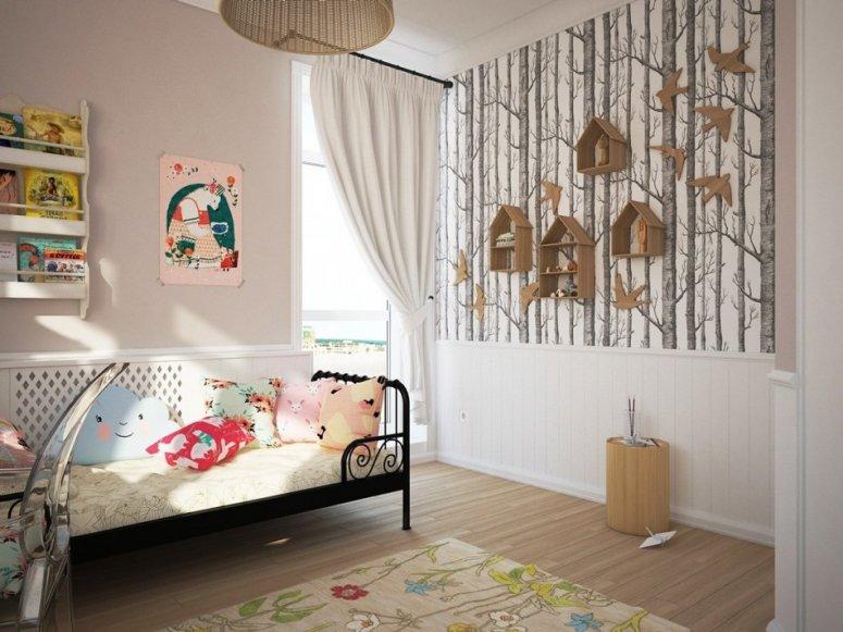 Дизайн детской комнаты — фото лучших вариантов яркого и стильного оформления