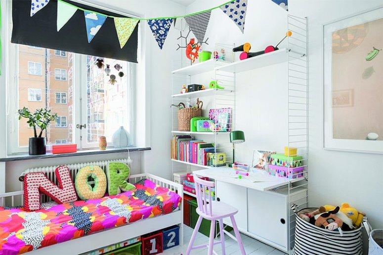 Дизайн маленькой детской комнаты. Особенности удачного и практичного зонирования