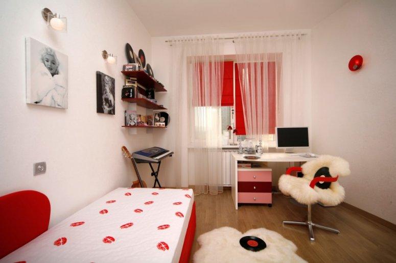 Детская комната для подростка. Много советов как выполнить хорошую планировку в детской