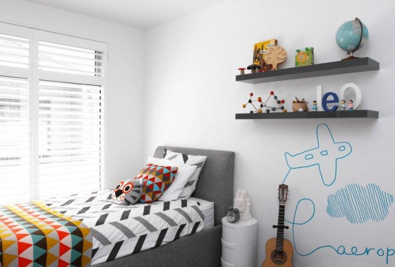 Идеи для детской комнаты. Необычное оформление в современном стиле