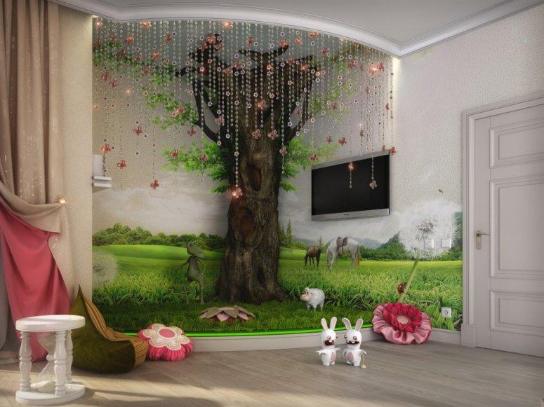Дизайн детской 16 кв. м. — идеи современного яркого оформления для детей разных возрастов