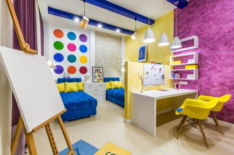 Планировка детской комнаты: фото оригинальных идей и наиболее удачных проектов своими силами