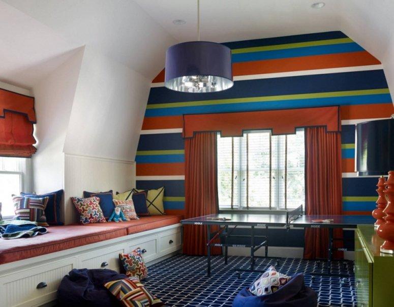 Окно в детской комнате — как оформить стильный и практичный дизайн?