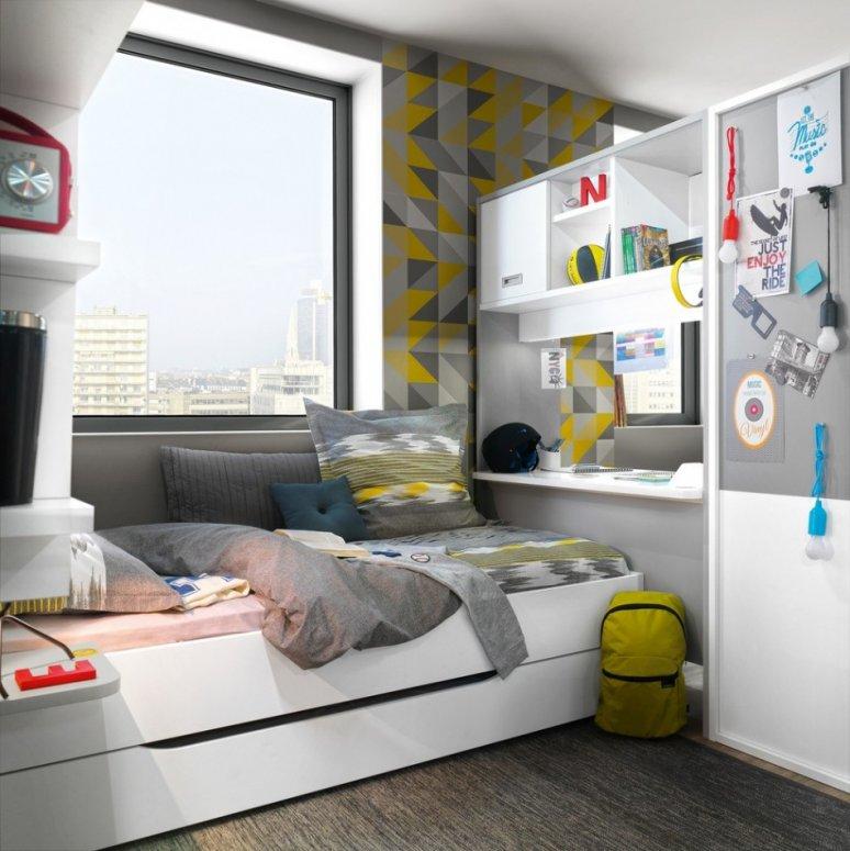 Дизайн детской 7 кв. м. — идеи стильных вариантов оформления уютной комнаты для детей